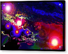 A Small Act Of Evening Magic Acrylic Print