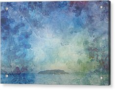 A Small Island Acrylic Print