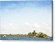 Acrylic Print featuring the photograph A Small Piece Of Paradise by Rosemary Aubut