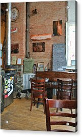 A Small Town Brewing Company Acrylic Print by Image Takers Photography LLC - Carol Haddon