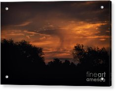 A Spectacular Sunrise Acrylic Print by Thomas Woolworth
