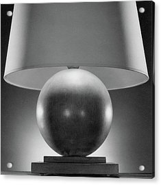 A Spherical Lamp By Joseph Mullen Acrylic Print