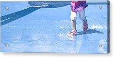 A Splishin' And A Splashin'  Acrylic Print by Theresa Tahara