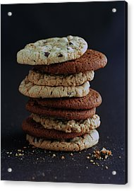 A Stack Of Cookies Acrylic Print