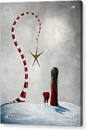 A Starlit Wish By Shawna Erback Acrylic Print by Shawna Erback