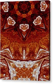Acrylic Print featuring the digital art A Stiring Of Secrets by Owlspook