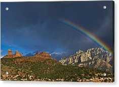A Stitch In Time Acrylic Print by Tom Kelly