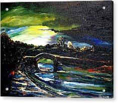 A Study Of Light Acrylic Print