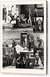 A Subalterns Experiences During The Recent Russian War Acrylic Print by English School