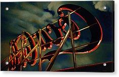 A Sullen Sky With A Reddish Glow, 2005 Acrylic Print