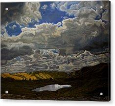 A Summer Day On Cottonwood Pass Acrylic Print by Thu Nguyen