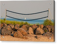 A Summers End Acrylic Print by Terry Cosgrave