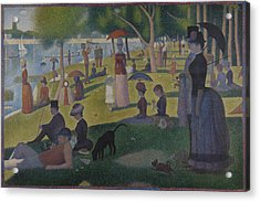 A Sunday On La Grande Jatte Acrylic Print by Georges Seurat