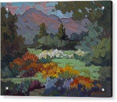 A Sunny Afternoon In Santa Barbara Acrylic Print
