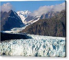 A Sunny Day In Glacier Bay Alaska Acrylic Print