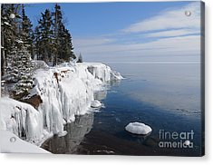 A Superior Winter Day #2 Acrylic Print
