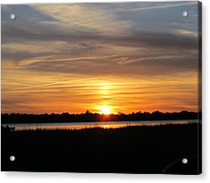 Acrylic Print featuring the photograph A Sweet Closure To Day by Joetta Beauford