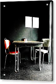 A Table For Two Acrylic Print by Steve Taylor
