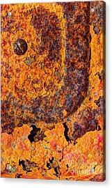 A Tad Rusty Acrylic Print by Heidi Smith