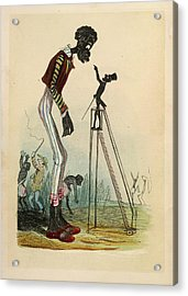 A Tall Slave Acrylic Print by British Library