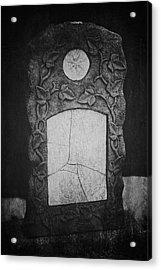 A Tear In The Fabric Acrylic Print by Odd Jeppesen