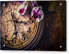 Acrylic Print featuring the photograph A Time For Everything by Joshua Minso