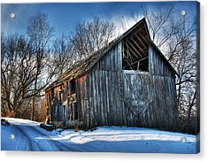 A Time Gone By....  Country Barn Acrylic Print