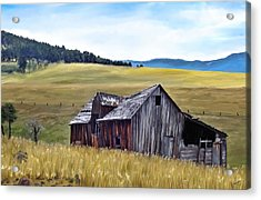 A Time In Montana Acrylic Print