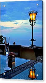 A Toast Acrylic Print by Corinne Rhode