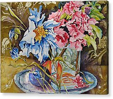 A Touch Of Class Acrylic Print by Joy Skinner