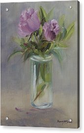 A Touch Of Elegance Acrylic Print by Debbie Lamey-MacDonald