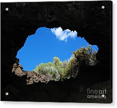 Acrylic Print featuring the photograph A Touch Of Sky by Debra Thompson