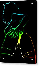 A Touch Too Much Acrylic Print by Steve K