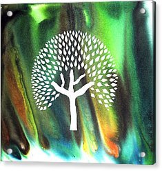 A Tree I Dreamt Of  Acrylic Print by Sumit Mehndiratta