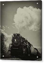 A Trip In The Past-the 765 Steam Locomotive Acrylic Print