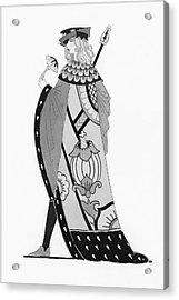 A Tudor Knight Acrylic Print
