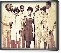 Motown Harmony Acrylic Print by Kellice Swaggerty