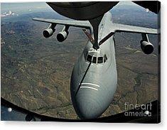 A U.s. Air Force Kc-135r Stratotanker Acrylic Print by Stocktrek Images