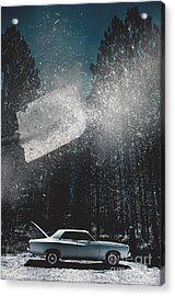 A Valiant Cover Up Acrylic Print by Jorgo Photography - Wall Art Gallery
