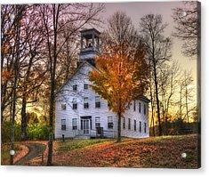 A Vermont Autumn - Woodstock Acrylic Print
