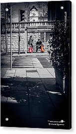 Acrylic Print featuring the photograph A Very Long Waiting Day by Stwayne Keubrick