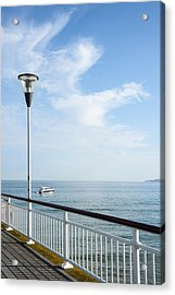 a View from Pier Acrylic Print by Svetlana Sewell