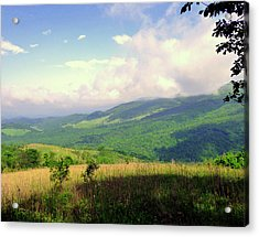 Acrylic Print featuring the photograph A View From Smith Mt. by Jim Whalen
