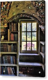A View From The Study Acrylic Print by Susan Candelario