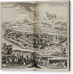 A View Of Baghdad In The 17th Century Acrylic Print by British Library