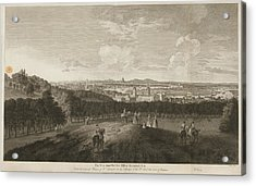 A View Of Greenwich Park Acrylic Print by British Library