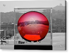 A View Of San Francisco Airport Acrylic Print