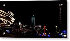 A View Of The Carnival Acrylic Print