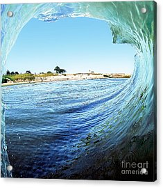 Acrylic Print featuring the photograph A View Of The Lighthouse by Paul Topp