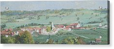 A Village In Provence France Acrylic Print